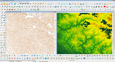 Processing of raster images